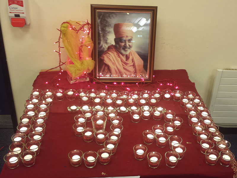 Pramukh Swami Maharaj's 93rd Birthday Celebration, Harlow