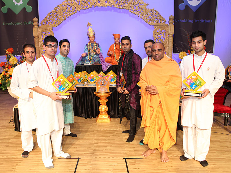 Competition prize winners: Group Kirtan Gaan