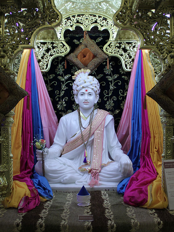 Brahmaswarup Bhagatji Maharaj on his birthday
