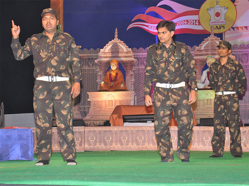 Cultural program by BAPS youth