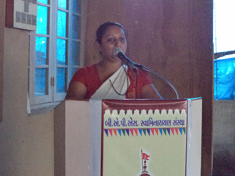 Mahila Din Celebrations 2014, Bilimora
