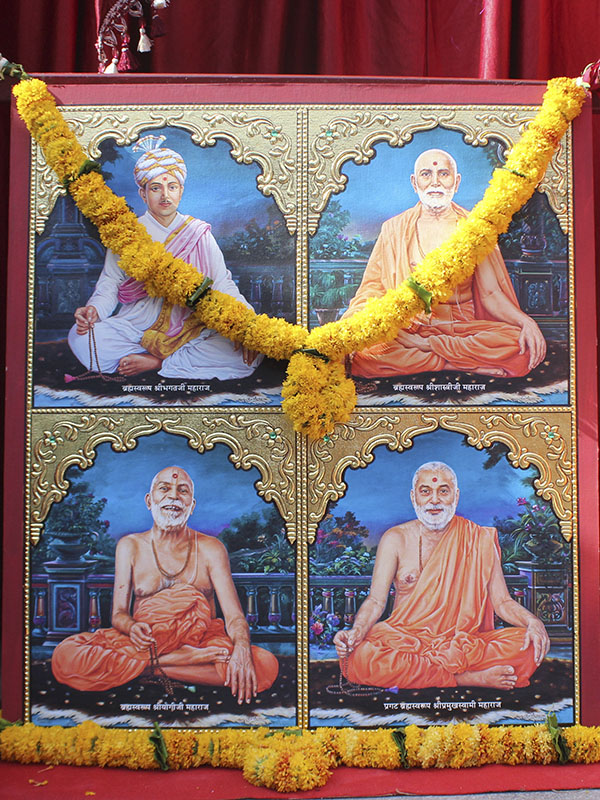 Murtis to be consecrated for new BAPS Shri Swaminarayan Mandir, Chhanigam (Vadodara), India
