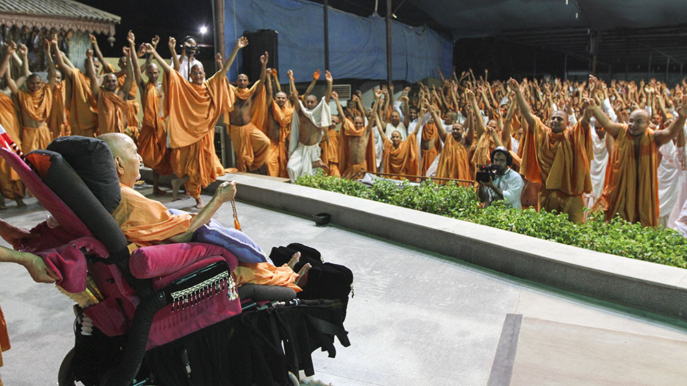 Sadhus also perform mala as part of their devotion