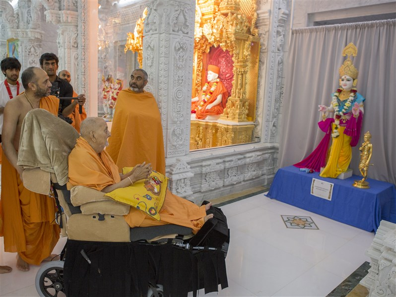 Ghanshyam Maharaj murti to be consecrated at  BAPS Shri Swaminarayan Mandir, Washington, DC
