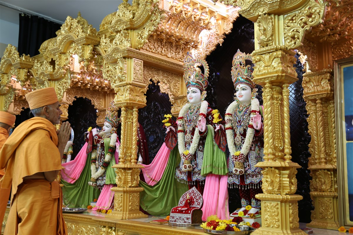 Mandir Mahotsav, BAPS Shri Swaminarayan Mandir, Seattle, WA, USA