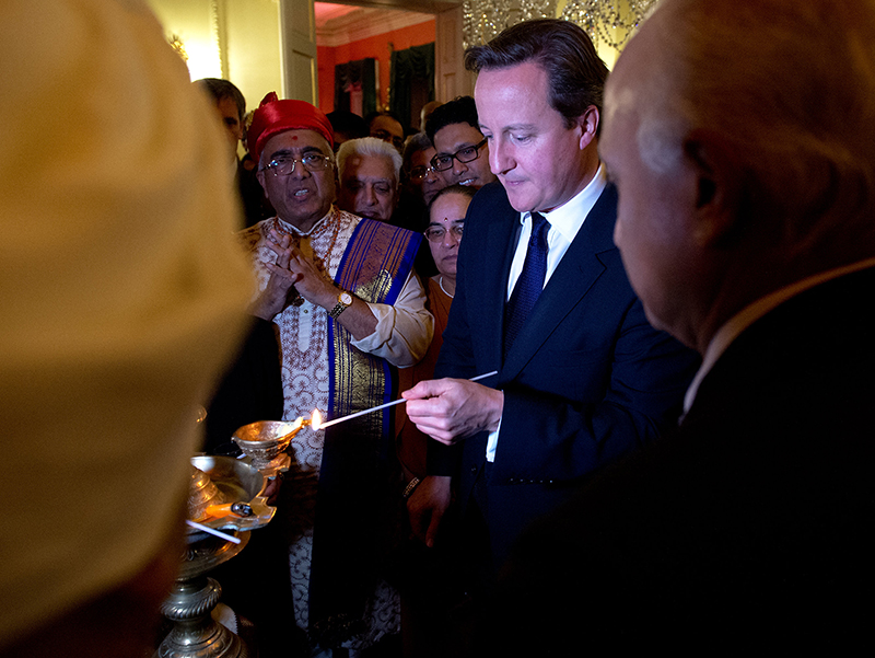 British Prime Minister Hosts Diwali Reception at 10 Downing Street