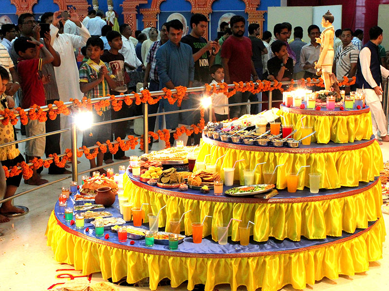 Annakut Celebrations, Bangalore