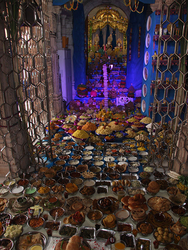 Annakut Celebrations, Bhavnagar