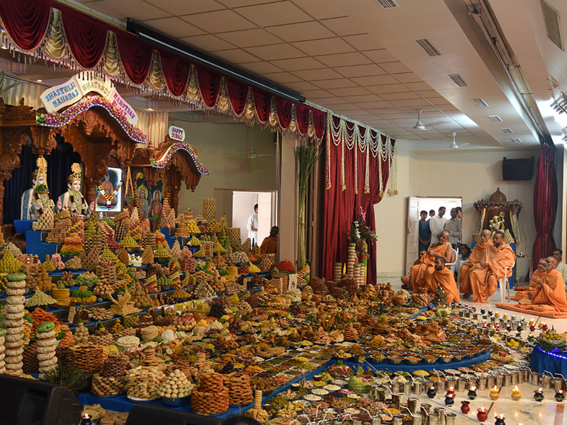 Annakut Celebrations, Gandhinagar