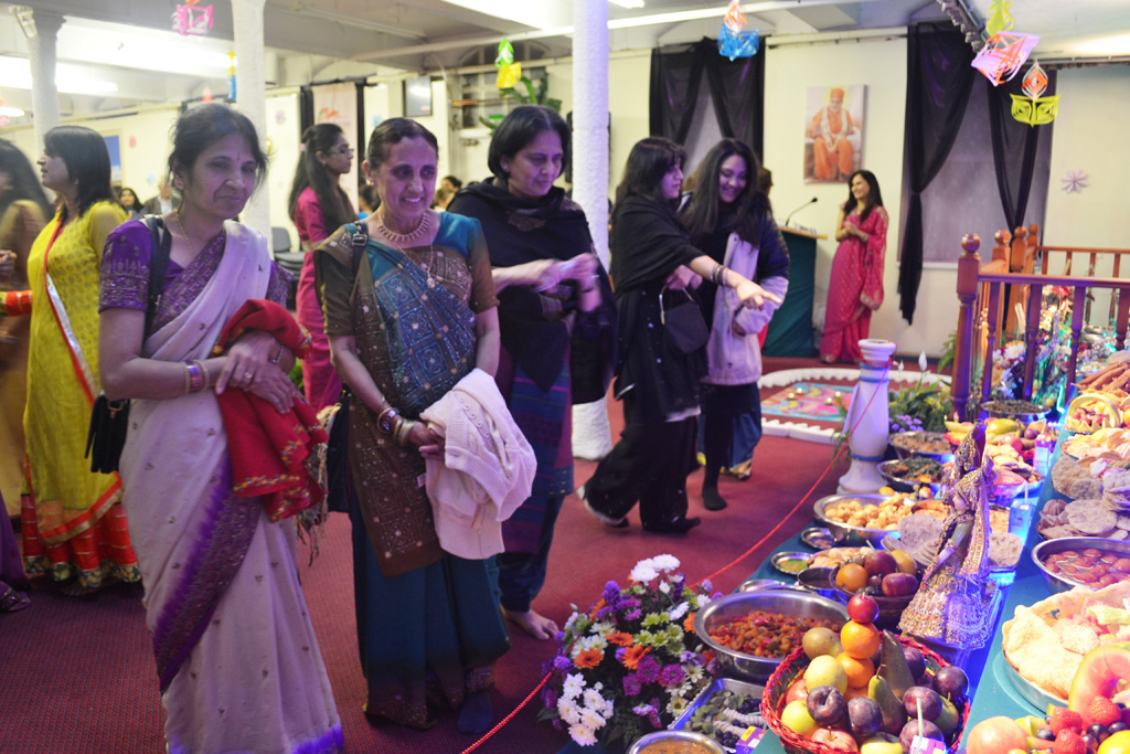 Diwali and Annakut Celebrations, Nottingham, UK