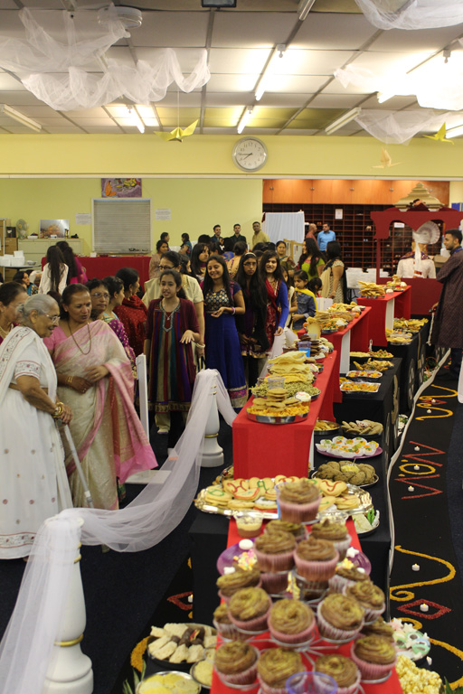 Diwali and Annakut Celebrations, Loughborough, UK
