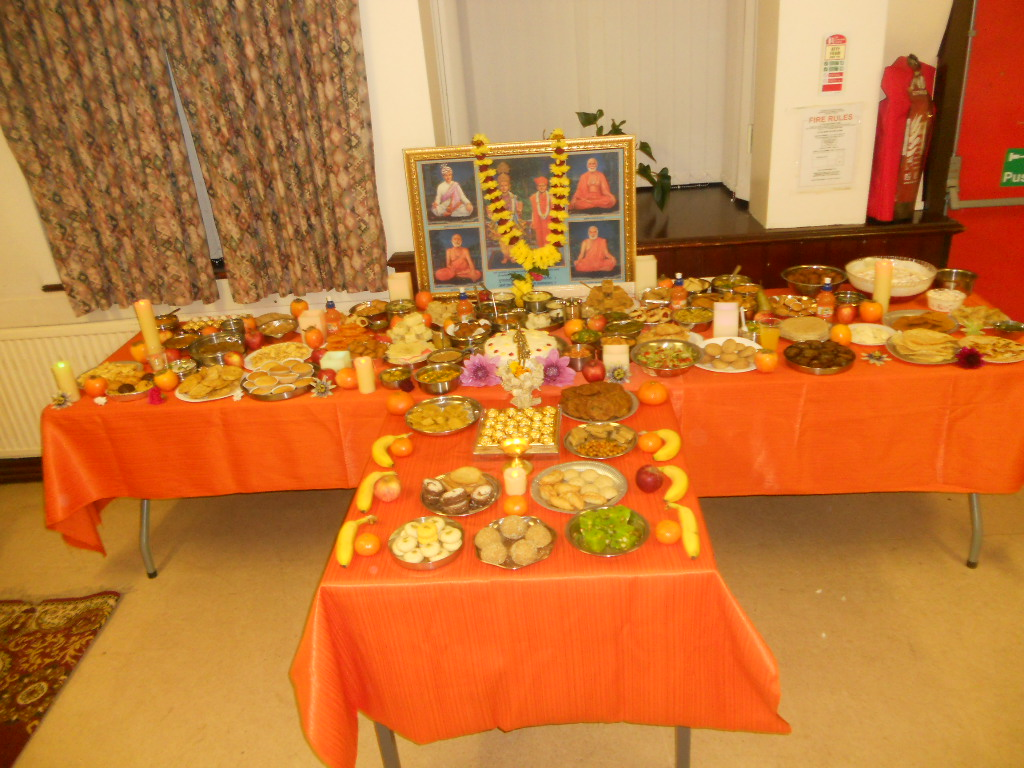 Diwali and Annakut Celebrations, Preston, UK