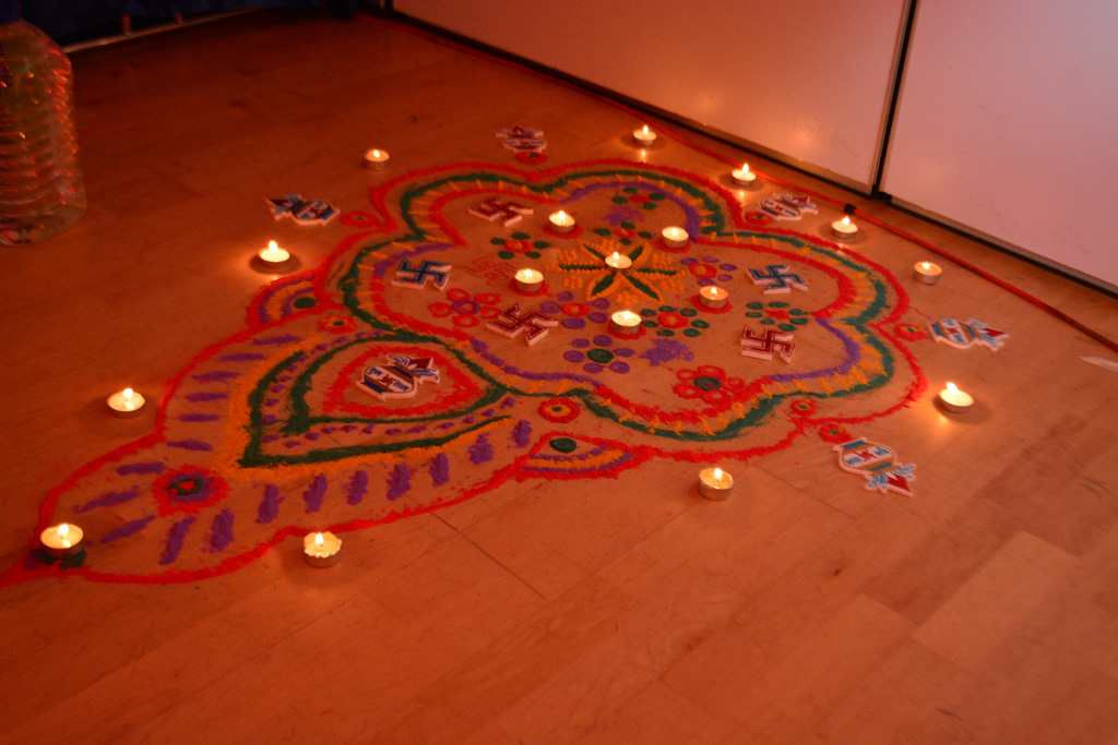 Diwali and Annakut Celebrations, Dublin, Ireland