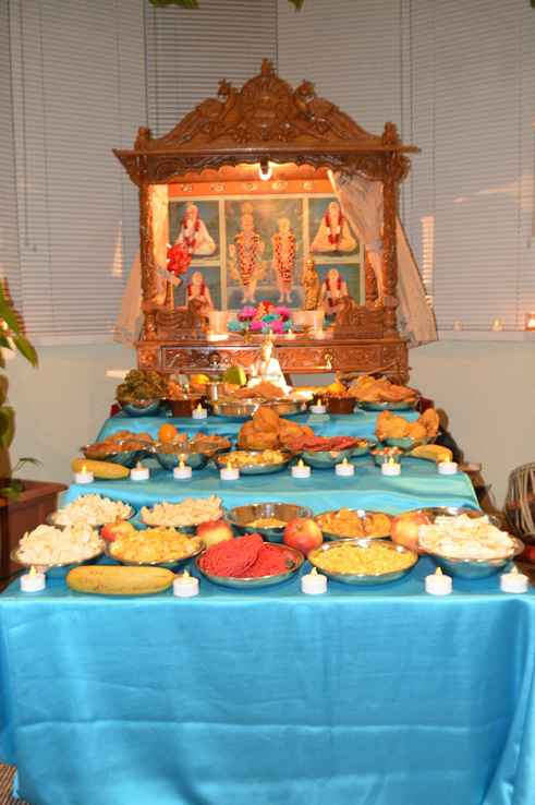 Diwali and Annakut Celebrations, Belfast, Northern Ireland