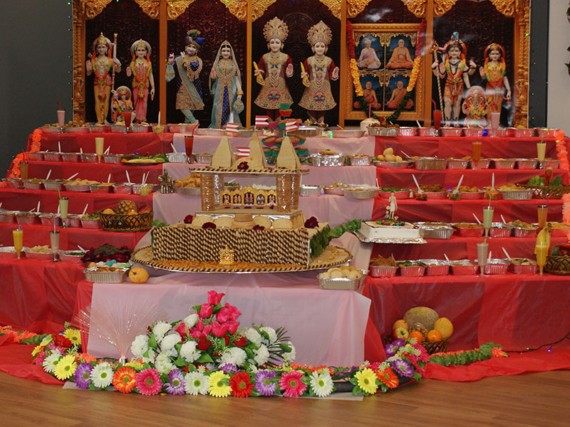 Annakut Celebrations, Newcastle