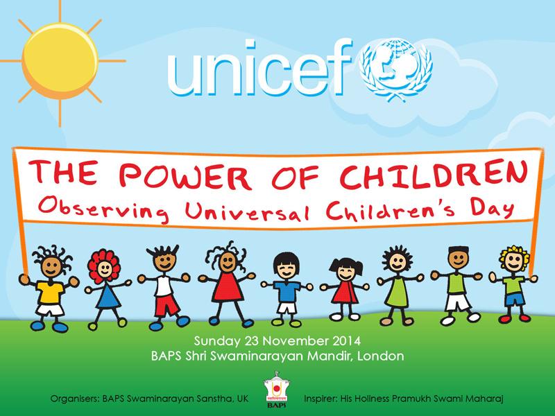 The Power Of Children Celebrating Universal Children S Day London Uk