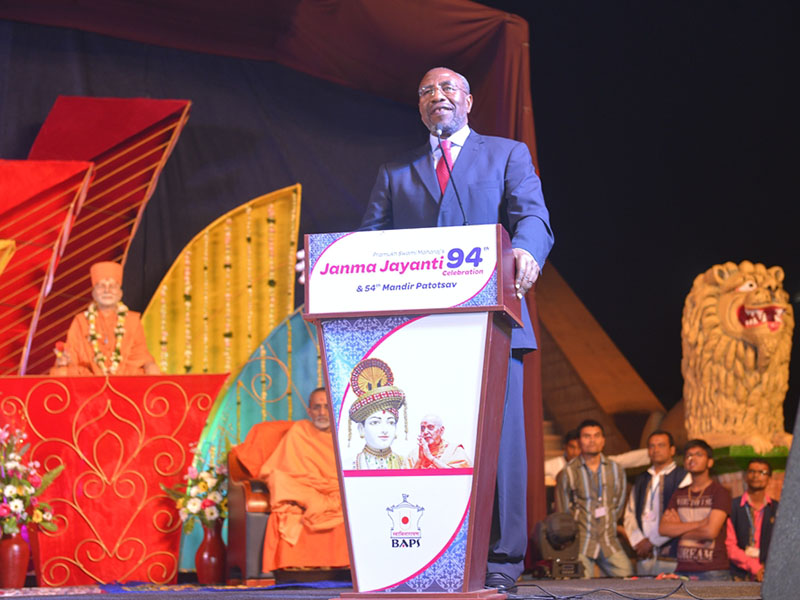 Pramukh Swami Maharaj's 94th Janma Jayanti (Birthday) Celebrations, Kampala