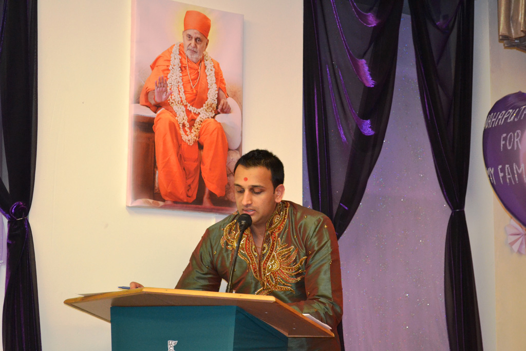 Pramukh Swami Maharaj's 94th Birthday Celebrations, Nottingham, UK
