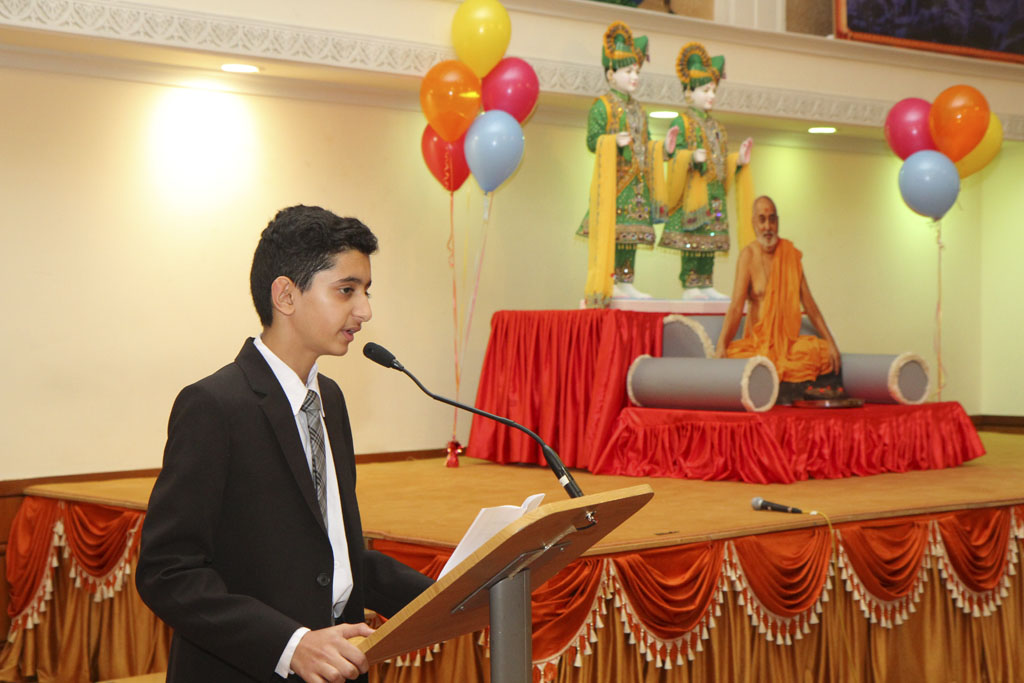 Pramukh Swami Maharaj's 94th Birthday Celebrations, London (Sunday School), UK