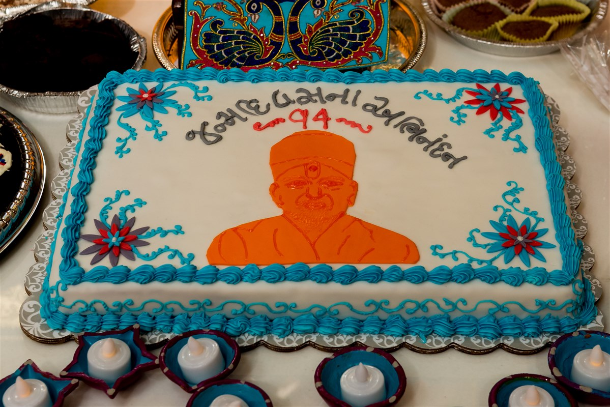 Pramukh Swami Maharajs 94th Birthday Celebration 2014 Edison NJ USA