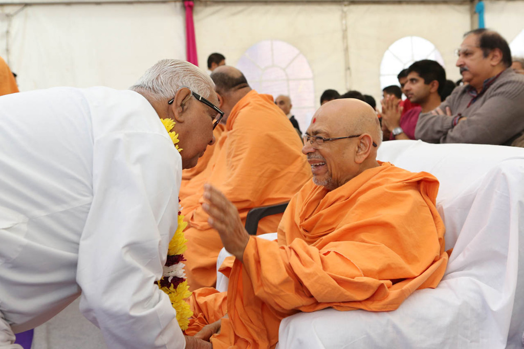 Pramukh Swami Maharaj's 94th Birthday Celebrations, Birmingham, UK