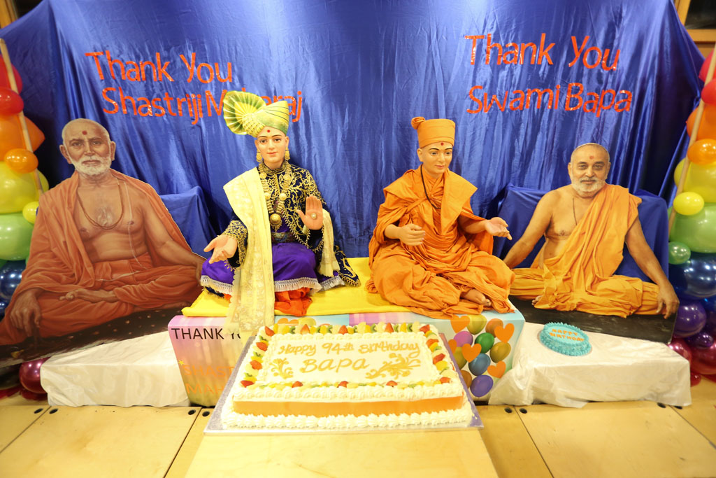 Pramukh Swami Maharaj's 94th Birthday Celebrations, London (Bal-Shishu Mandal), UK