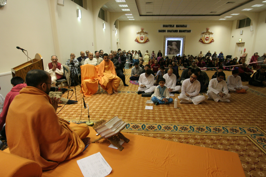 Shastriji Maharaj 150th Anniversary Celebrations, Luton, UK