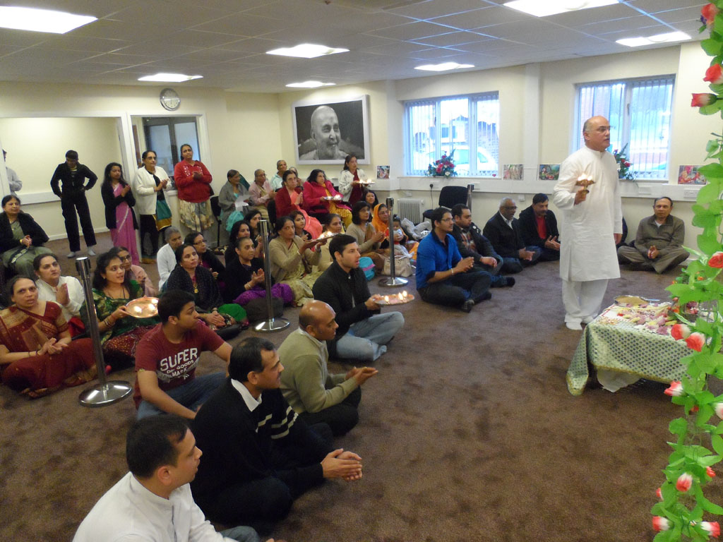 Swaminarayan Jayanti Celebrations at BAPS Shri Swaminarayan Mandir, Leeds, UK