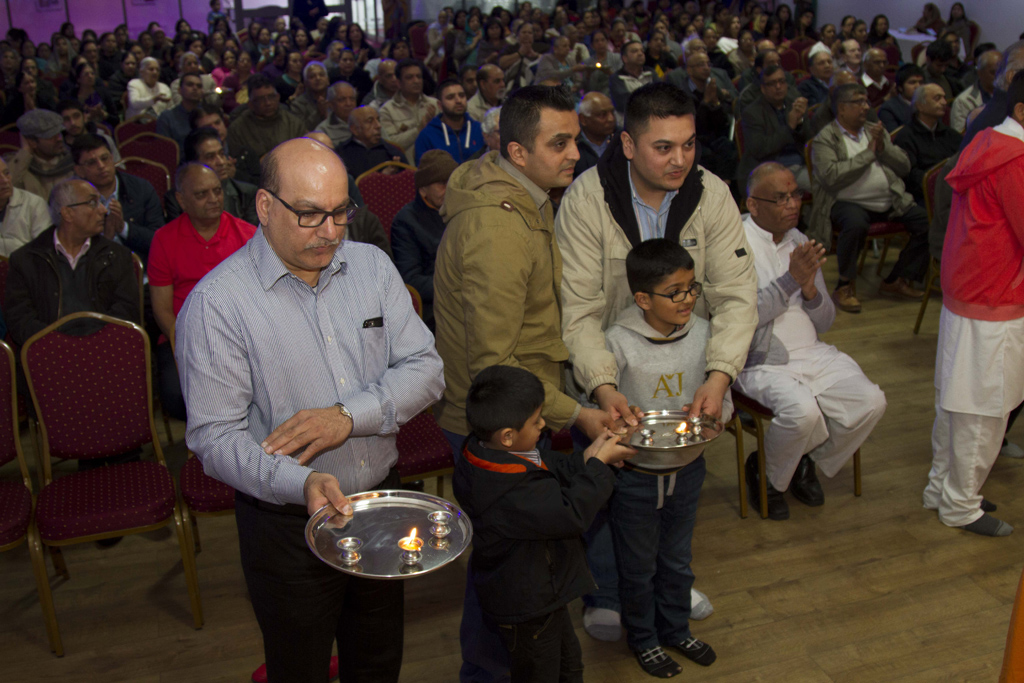 Swaminarayan Jayanti Celebrations at BAPS Shri Swaminarayan Mandir, Coventry, UK