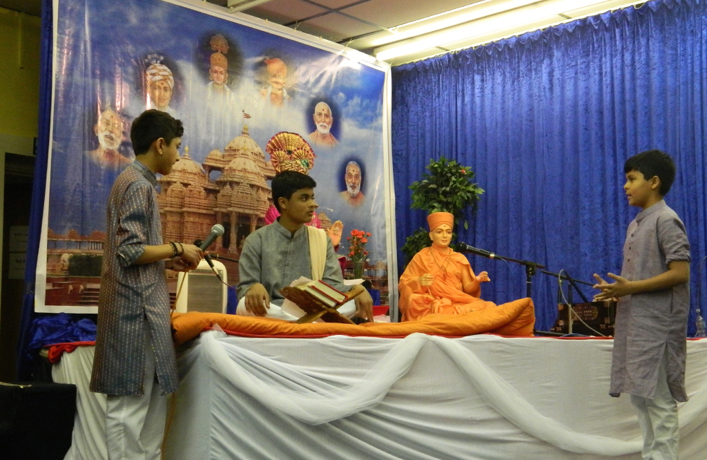 Swaminarayan Jayanti Celebrations at BAPS Shri Swaminarayan Mandir, Loughborough, UK