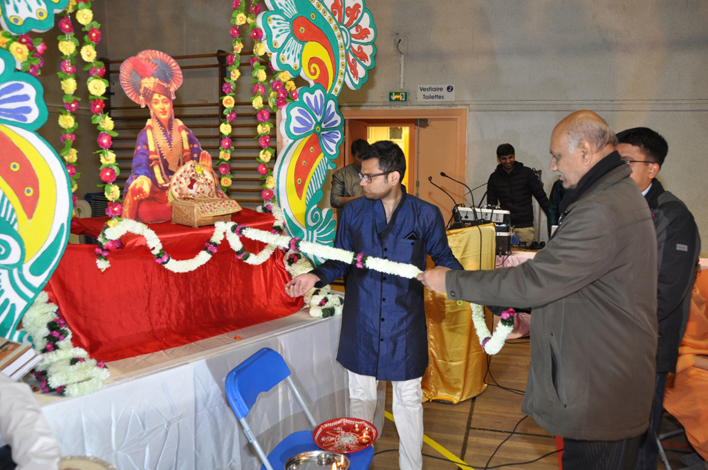 Swaminarayan Jayanti Celebrations at Paris, France