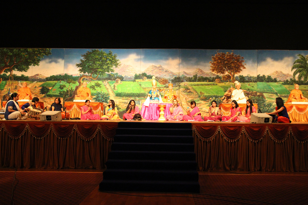 Swaminarayan Jayanti Celebrations, Mahila Mandal, London, UK