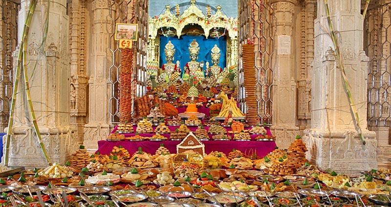 Annakut Celebration Worldwide<br>Sarangpur<br>18 October 2009 -