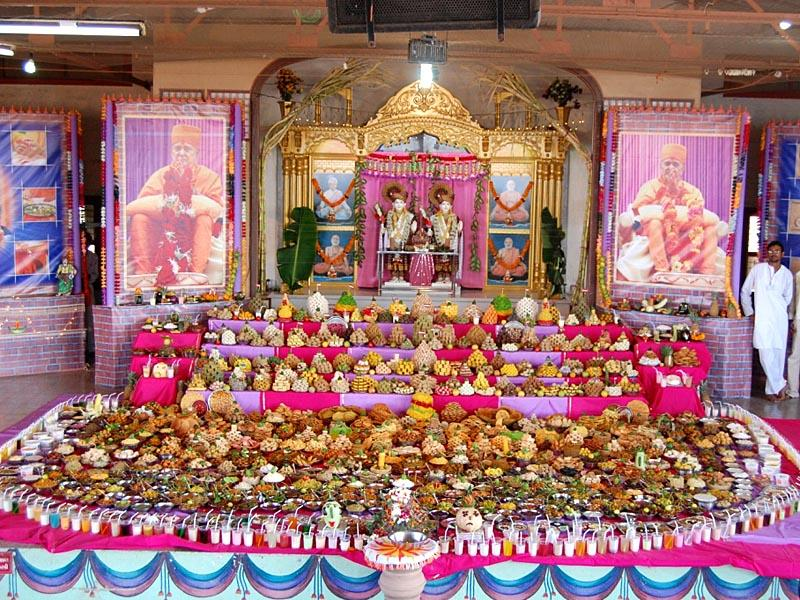 Annakut Celebration Worldwide<br>Jamnagar<br>18 October 2009 -