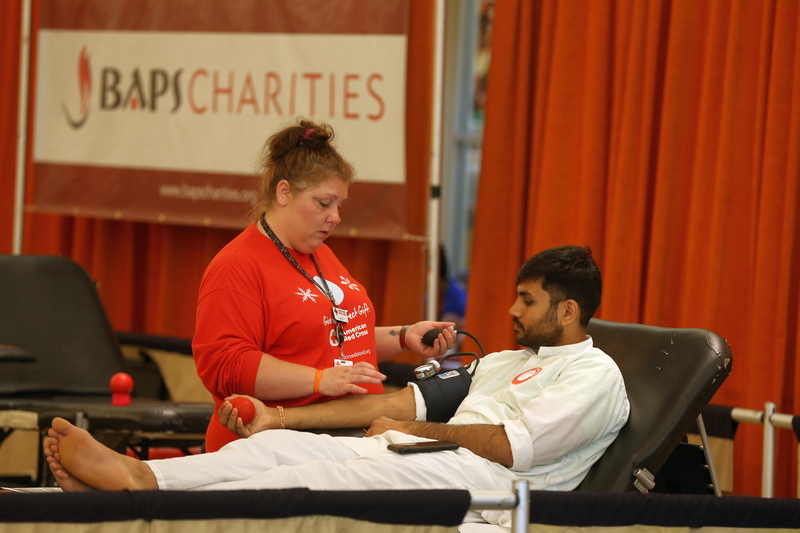 BAPS Charities Blood Donation Drive