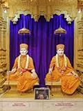 Brahmaswarup Shastriji Maharaj and Brahmaswarup Pramukh Swami Maharaj