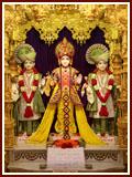 Bhagwan Swaminarayan, Aksharbrahman Gunatitanand Swami and Shri Gopalanand Swami