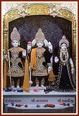Shri Harikrishna Maharaj and Shri Lakshmi-Narayan Dev
