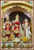 Shri Harikrishna Maharaj and Shri Radha-Govind