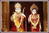 Shri Sita Ram and Shri Hanumanji