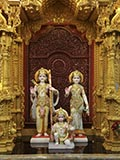Shri Sita-Ram and Shri Hanuman