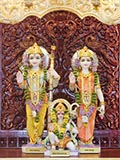 Shri Sita-Ram Dev and Shri Hanumanji