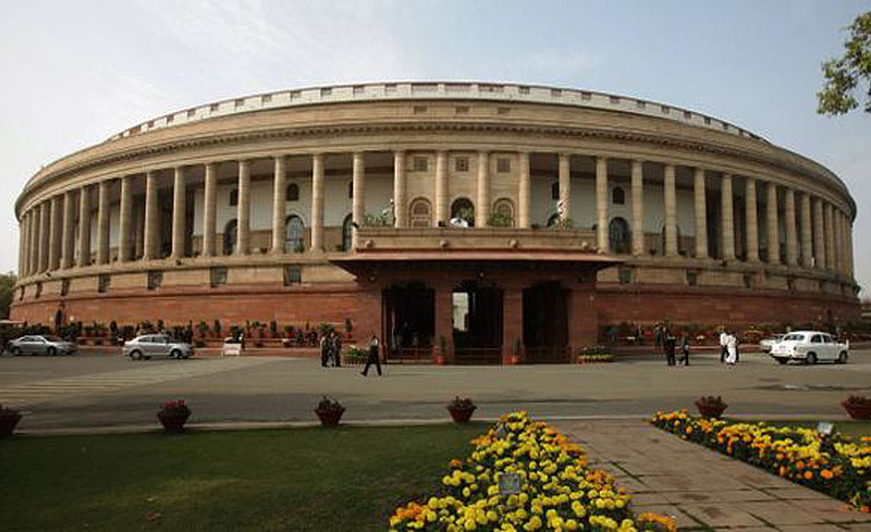 The Parliament Of India Pays Tribute To HH