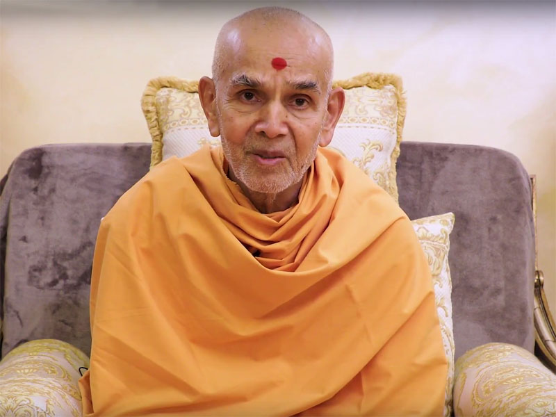 Happy New Year Mahant Swami 45