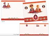 Wedding Card - KU 702